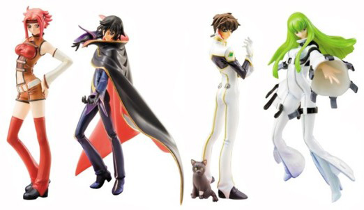 Code Geass figure Ex-Portrait