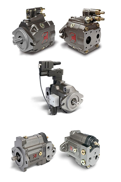 Variable displacement axial piston pumps