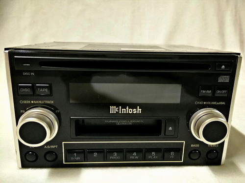 Front CD Audio Mcintosh 2Din (มือสองเครื่องนอก) -  BETTER  SOUND  CARAUDIO  จำหน่ายเครื่องเสียงรถยนต์  HI-END  อาทิเช่น  