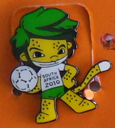 Zakumi South Africa 2010 PIN