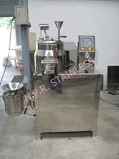 High Speed Mixer Wet Granulator 10 Kg.