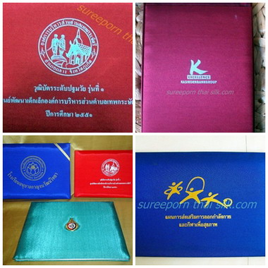 ปกผ้าไหม,ปกใบประกาศ,silk frame degree,diploma,univ -   Gift,Premium,Souvenir,GradeA+Silk, B2B,B2C,OEM, Giftbox,Premium box,Dairly Notebook,Namecard,Necktie,Scarf,Bag,Bed runner,Table runner,Doll,Picture frame, Pillow , Silk Cushion cover, Silk scarf, Silk Deco-items & more Silk items, Hotel product, School p  SureepornThaiSilk silk manufacture over 50years ex