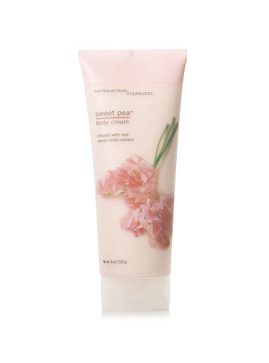 Bath & Body Works Body Cream : Sweet Pea 8 oz.