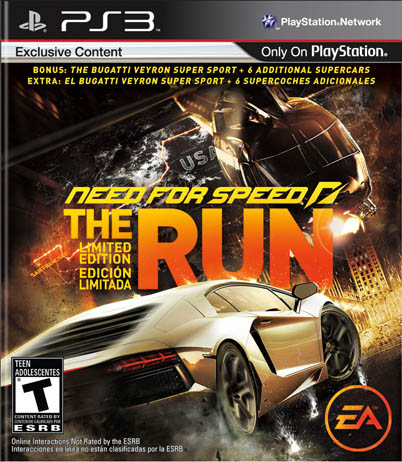 need for speed THE RUN (Zone 1)